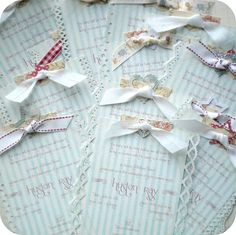Shabby Chic Baby Shower Invitations by Little Paper Farmhouse, via Flickr
