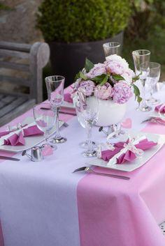 Rose ODN Dentelle Rouleau D/écoration pour Banquet Mariage Chemin de Table D/écoration
