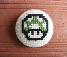 Mario Bros. Mushroom / Melina Rapimán / www.melinarapiman.cl