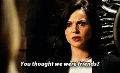 """""""You thought we were friends?"""" Regina and Emma - 4 * 5 """"Breaking Glass"""""""