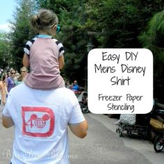 Easy DIY Mens Disney Shirt | Brie Brie Blooms
