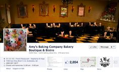 This is the Facebook page for Amy's Baking Company Bakery Boutique & Bistro, a restaurant in Scottsdale, Arizona.