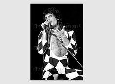 Freddie Mercury Pattern Queen Cross Stitch by NewYorkNeedleworks