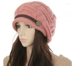 Women Girl Korean Winter Knit Braided Hat Ear Warmer Beanie Ski Cap Pink friendshops,http://www.amazon.com/dp/B00FXM9FGU/ref=cm_sw_r_pi_dp_7ZIatb0KW43XWV3D