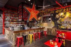roy zsidai transforms ruin pub in budapest into spiler shanghai bistro - designboom | architecture