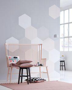 workshop kreative tapeten ideen und frische farben - Tapeten Wohnzimmer Beispiele