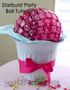 Simplistically Sassy: Starburst Party Ball