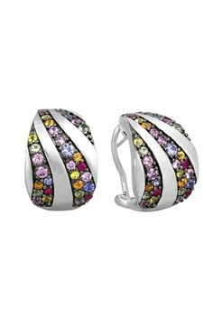 Effy Jewlery Balissima Multi Shire Earrings 2 62 Tcw Jewelry Http