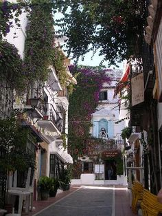 Marbella, Spain - Old Town, - Imagine yourself retiring in beautiful Marbella! Marbella and the Costa del Sol is a prime location for a holiday destination, and pristine and luxury investments. Places To Travel, Places To See, Places Around The World, Around The Worlds, Malaga Spain, Andalusia Spain, Places In Spain, Marbella Spain, Spain And Portugal