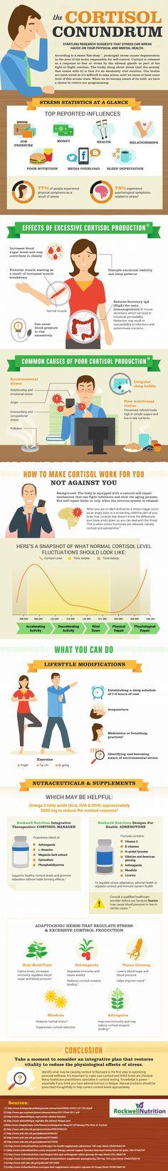 stresshormon cortisol gewichtszunahme