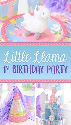 Open A Party has over party items covering every party theme and occasion. Giant selection of tableware, candy, crafts, favours and balloons. Llama Birthday, Birthday Book, Baby Girl 1st Birthday, Girl Birthday Themes, First Birthday Parties, First Birthdays, Birthday Ideas, Colorful Birthday Party, Birthday Party Decorations