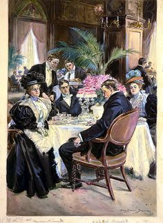 Over-indulgence--a spoiled Thanksgiving - 1896