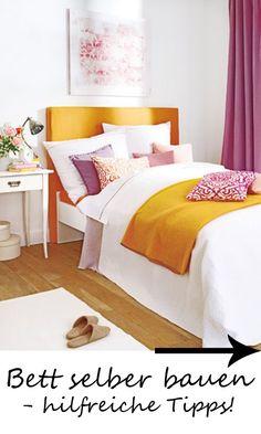 Du Willst Dein Bett Selber Bauen? Hier Gibtu0027s Hilfreiche DIY Tipps!