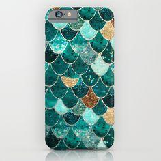 REALLY MERMAID iPhone & iPod Case by Monika Strigel