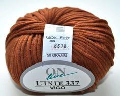 vegan yarn - cotton + polyamid