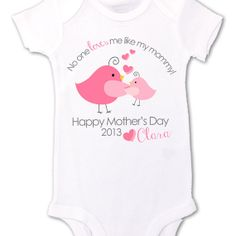 Our precious baby is due right before Mother's Day so this would be perfect!