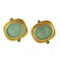 Elizabeth Locke Jewelry | Archer Earrings | Bigham Jewelers, Naples Florida Jewelers