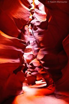 The Antelope Canyon | Top 10 most amazing places to travel
