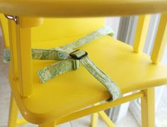 DIY High Chair Safety Straps
