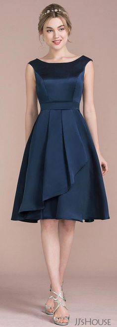 New Dress Outfit Heels Skirts 59 Ideas Trendy Dresses, Elegant Dresses, Cute Dresses, Beautiful Dresses, Short Dresses, Simple Dresses, Casual Dresses, Satin Bridesmaid Dresses, Prom Dresses