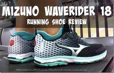 Running in the Mizuno Running Wave Rider 18 running shoe review!  #waverider18 #fitfluential #sponsored