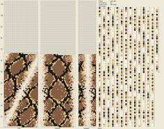 Bead Crochet Snake Pattern 8-2