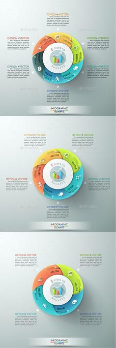 Infographic Tutorial infographic tutorial illustrator cs2 download : Moderne Infographic Options Circle Template   Infographic ...
