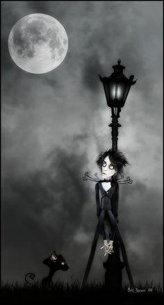 I've Loved You So Long by Beth Spencer (vacuumslayer) - Black Cat (I Like the Melancholia)