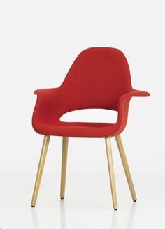 Organic Chair by Charles Eames & Eero Saarinen (1940)