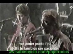 Joaquin Sabina y Javier Krahe Cuervo Ingenuo. Hombre blanco hablar con lengua de serpiente...