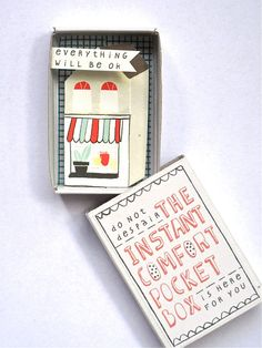 The Instant Comfort Pocket Box - little house. €7,95, via Etsy.
