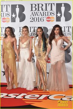Little Mix Light Up The BRITs 2016 - See The Hot Pics!: Photo #933616. Little Mix heat up the red carpet at the 2016 BRIT Awards at The O2 Arena on Wednesday night (February 24) in London, England. The ladies -- Jade Thirlwall, Perrie…