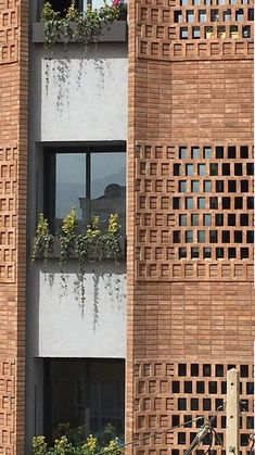 Gallery of apartment No. 84 / MiriStudio – 29 What is Art ? To answer the question of what is … Brick Architecture, Architecture Details, Chinese Architecture, Futuristic Architecture, Brick Face, Brick Paneling, Brick Walls, Facade House, House Facades