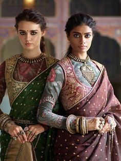 New sari style
