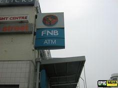 FNB Flag Sign Sign Installation, Flag Signs