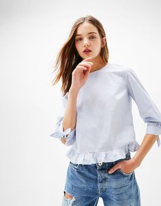 Overhemden - KLEDING - DAMES - Bershka Belgium