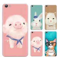 Warm Color Animals Series Phone Case For Vivo X7 5.2-inch / Vivo X7 Plus 5.7-inch Painted TPU Soft Case