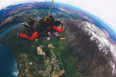 Skydiving in queenstown, new zealand with nzone What Is Like, Thats Not My, Skydiving, Digital Nomad, Free Travel, Successful People, Virtual Tour, 6 Years, Travel Guides
