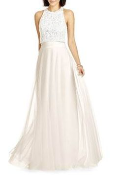 e40a0aec Alternate Image 2 - Dessy Collection Full Length Tulle Skirt Bridesmaid  Skirts, Dessy Bridesmaid,