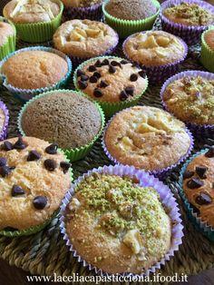 Muffin senza glutine assortiti | La celiaca pasticciona