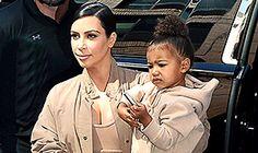 Online News Portal : Pregnant Kim Kardashian, North Coordinate in Match...