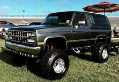 Lifted Chevy Trucks, 4x4 Trucks, Custom Trucks, Cool Trucks, Lifted Ford, Chevy K10, Chevrolet Tahoe, Chevrolet Trucks, Chevy Blazer K5
