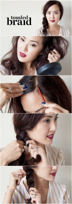 How to: Messy braid #nordstrom
