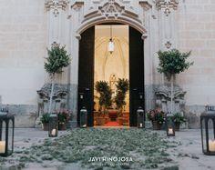 Decoración de iglesias para bodas  ©Javi Hinojosa ©ANDALUFLOR #bodas #decoración