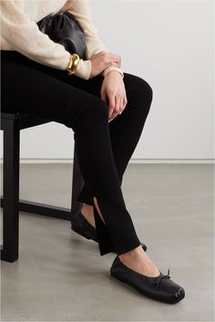 ballet flats will never go out of style. they're chic, they're comfortable and they match anything in your wardrobe. here are the best black ballet flats to shop now #balletflats #balletshoes #flats #classicshoes #womensshoes #amazonfinds Black Ballet Flats, Leather Ballet Flats, Black Heels, Ballet Shoes, Best Black, Going Out, Black Leather, Feminine, Slip On
