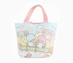 Little Twin Stars Mini Tote: Farm