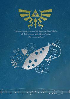 The Legend of Zelda Poster by Steven Thornton