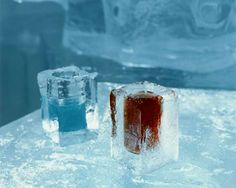 Stockholm Ice Bar, in Nordic Sea Hotel, Stockholm