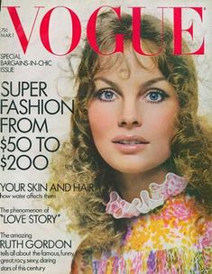 Vogue Magazine Covers, Vogue Covers, Jean Shrimpton, William Klein, Jacqueline Bisset, Guy Bourdin, Richard Avedon, Vogue Us, Vintage Magazines