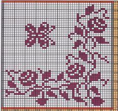 Ravelry: Potholder Flower Tendril by Regina Schoenfeldt